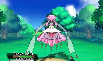 Pokemon RubisSaphir - Diancie