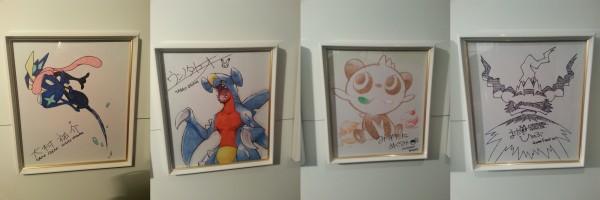 PokemonCenter - Team Artworks 2