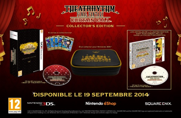 Theatrhythm Final Fantasy Curtain Call - Edition Collector