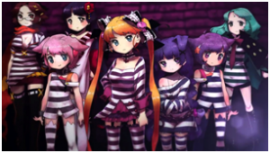 Criminal Girls - Art