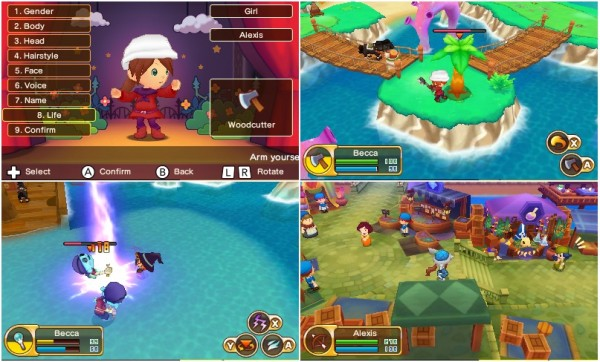 Fantasy Life - Screen