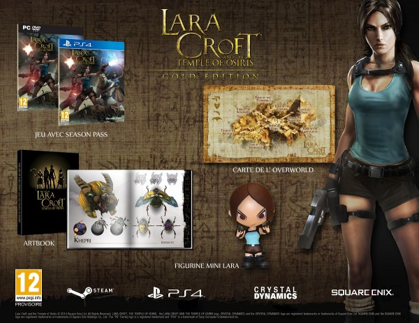 Lara Croft and TTOO - Gold Edition