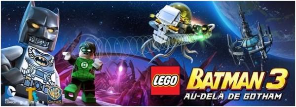 Lego Batman 3 - Title