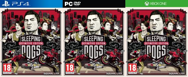 Sleeping Dogs DE - Covers