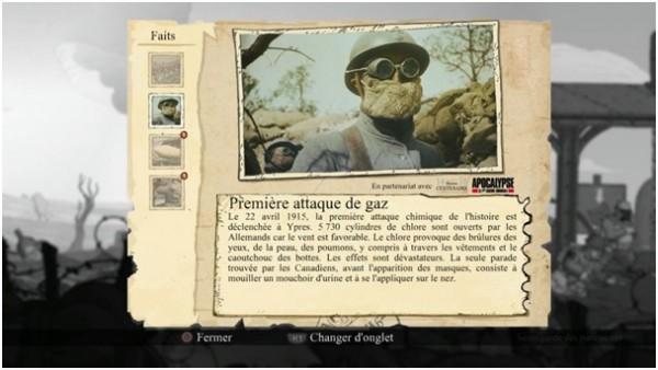 Voici un exemple d'archive trouvée lors d'un des niveaux du jeu.