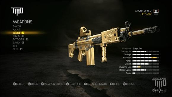Une arme parmi d'autres...