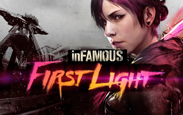 InFamous First Light - Title