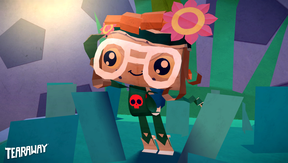 Test de Tearaway sur PS Vita