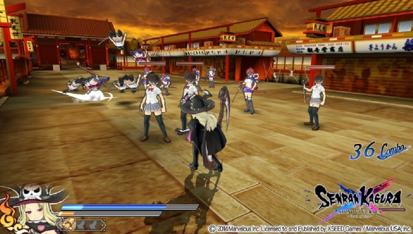 Shinovi Versus Gameplay