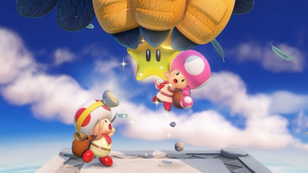 Captain Toad - Toadette Kidnapping