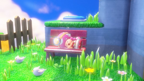 Captain Toad - Toadette sleeep