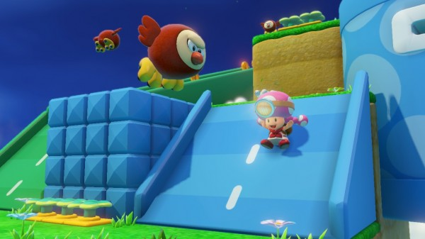 Captain Toad - Toadette toboggan