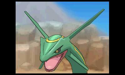 Pokémon ROSA - Rayquaza
