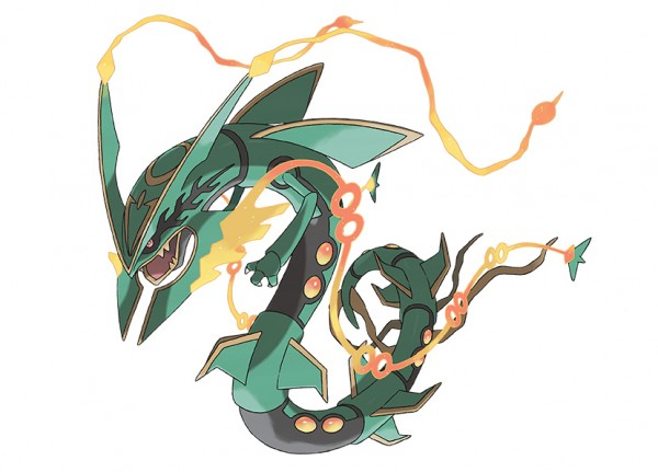 Pokemon ROSA - Méga-Rayquaza