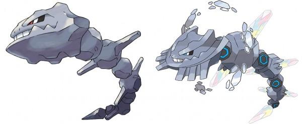 Pokemon ROSA - Steelix & Méga-Steelix