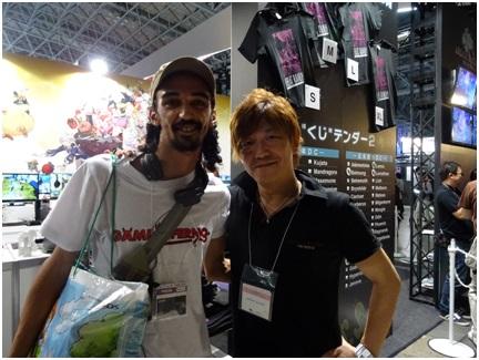 Naoki Yoshida et moi