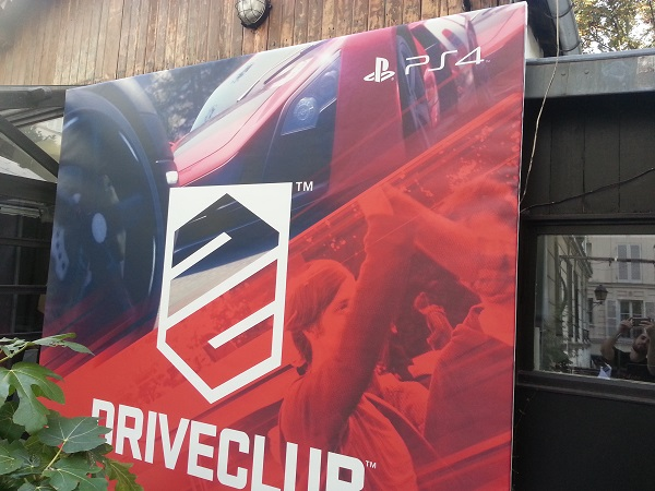 logo event drive club