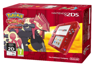 Nintendo - 2DS Rouge