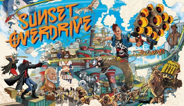 Sunset Overdrive - Title