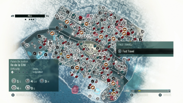 AC Unity - Map