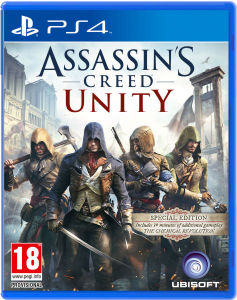 AC unity - Cover PS4