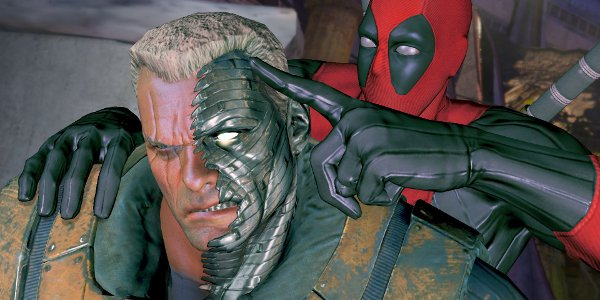 Deadpool ne respecte vraiment personne... Même pas Cable!