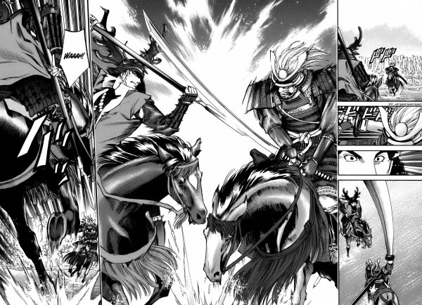 le chef de nobunaga bataille