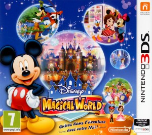Disney Magical World Jaquette