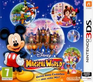 Disney Magical World Jaquette