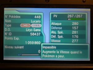 Pokémon ROSA - Lucario Free