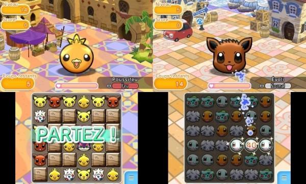 Pokemon Shuffle - Double Screen