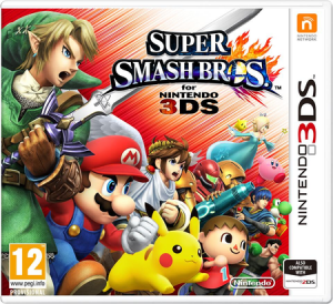 Super Smash Bros for 3DS Jaquette