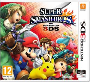 Super Smash Bros for 3DS Jaquette