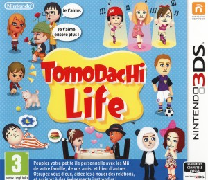 Tomodachi Life Jaquette