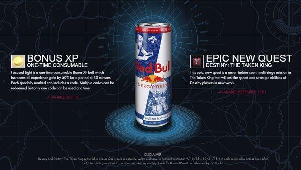 Au pire, tu achètes un pack de Red Bull non? Genre tu bois pas de boissons énergétiques?