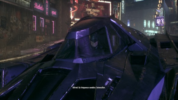 Batmen Arkham knight batmobile