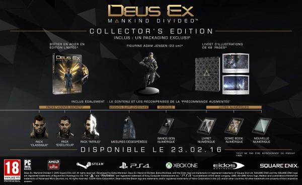 Deus Ex - Mankind Divided - Collector