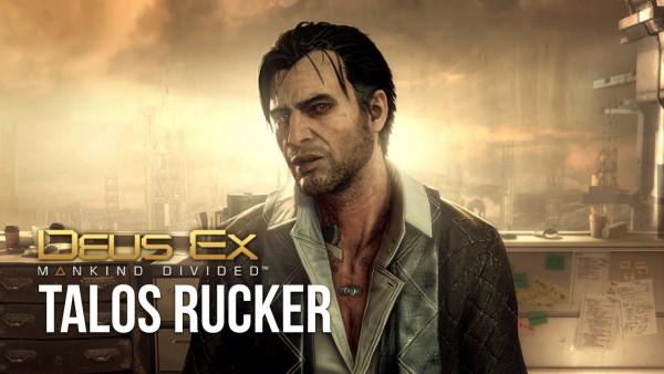 Deus Ex - Talos Rucker
