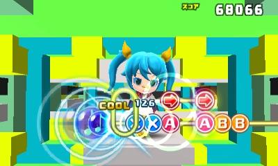 hatsune Miku Mirai DX gameplay 1