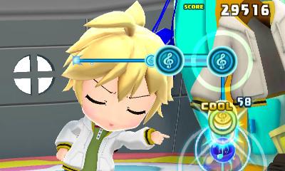 hatsune Miku Mirai DX gameplay