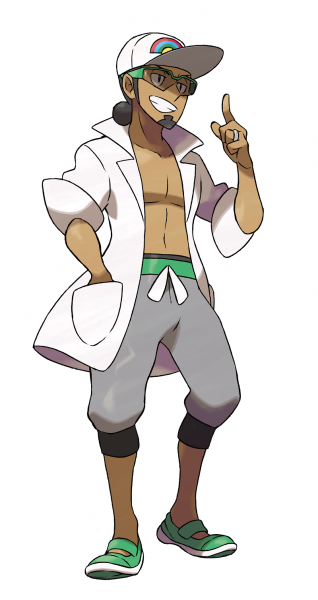 Pokémon SL - Professeur Euphorbe