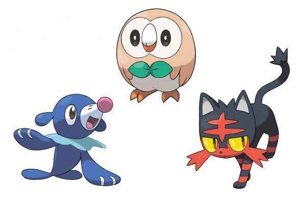 Les 3 starters