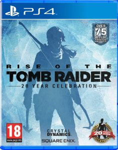 Rise of The Tomb Raider - Packshot PS4