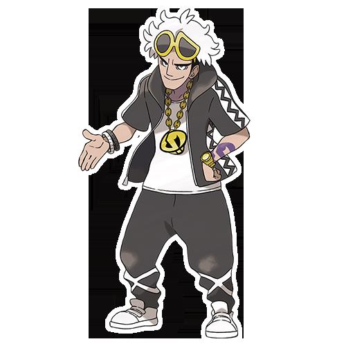 Pokémon SL - Guzma