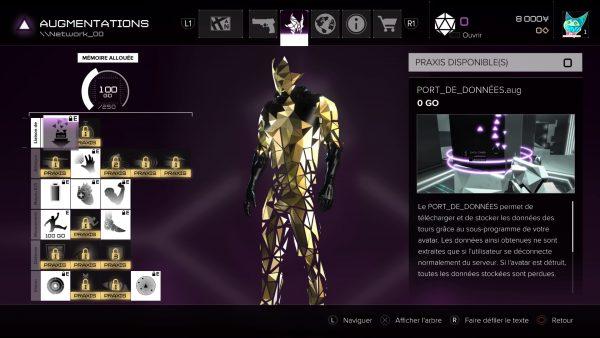 Votre avatar dans le mode Breach