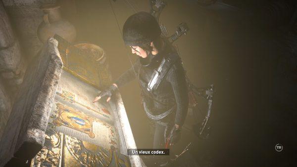 Un des fameux Codex récompensant ceux étant venus à bout de l'énigme