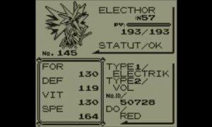 Banque Pokemon - Electhor