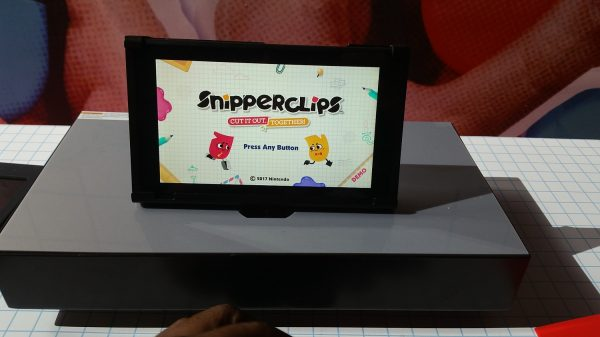 Nintendo Switch - Snipperclips 1
