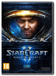 Starcraft 2 : Wings Of Liberty - Cover