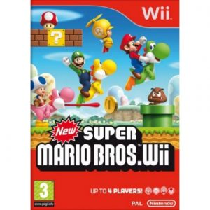 New Super Mario Bros. Wii - Cover
